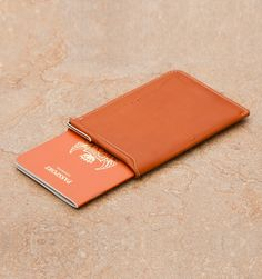 Rushfaster.com.au - Bellroy The Passport Sleeve In Tan