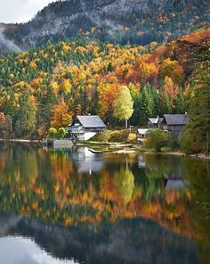MASHABLE (December 4, 2014) ~ New James Bond movie, SPECTRE, will film in gorgeous locations. Photo: Lake Altaussee, Austria