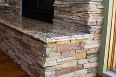 stone fire place pictures - Google Search