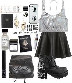 """""""silver linings"""" by only-desire ❤ liked on Polyvore"""