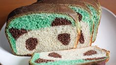 A white sandwich loaf, with a fun panda surprise inside!