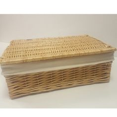 A range of Basket trunks, chests, seagrass and wicker baskets with lids and linings, for storage from Choice Baskets, quality products from UK stock. Wicker Basket With Lid, Wicker Baskets, Trunks And Chests, Storage Baskets, Rattan, Home Decor, Wicker, Decoration Home, Room Decor