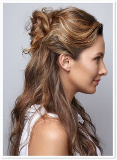 Check out the Up-Down Do look using @livingproofinc