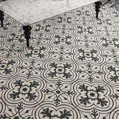 """EliteTile Forties 7.75"""" x 7.75"""" Ceramic Field Tile in Gray/White & Reviews   Wayfair"""