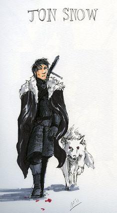 SOIAF character sketches XI by Tribemun.deviantart.com on @DeviantArt