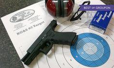 Groupon - Shooting-Range Package for Two with Ammo at Range, Guns & Safes (46% Off)  in Multiple Locations. Groupon deal price: $30