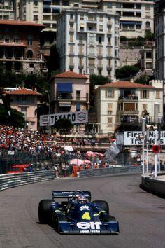 Patrick Depailler - Tyrrell - 1976 Monaco Grand Prix