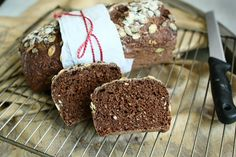 Five Grain Spelt Bread with Grapeseed Flour and Malt Extract