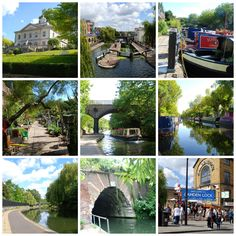 Regent's Canal, London Take a walk along the most colourful stretch of canal in the country  http://www.justsaying2u.com/2014/08/walking-regents-canal-from-little.html