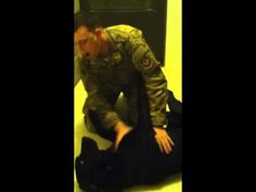 [VIDEO] Black Labrador Surprised by U.S. Airman After Returning from Deployment