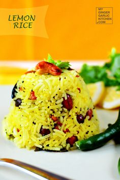 Lemon Rice [Recipe]