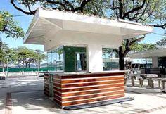 Novos quiosques da orla da praia Orlando, Kiosk, Ideas Para, Coffee Shop, Mall, Portugal, Retail, Spaces, Street