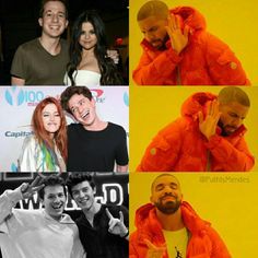 Me and Drake are on the same page. Cute Celebrities, Celebs, Shawn Mendes Memes, Mendes Army, Chon Mendes, Magcon Boys, Charlie Puth, 1d And 5sos, To My Future Husband