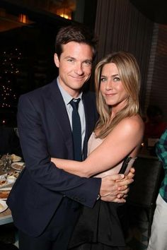 Jason Bateman and Jennifer Aniston.