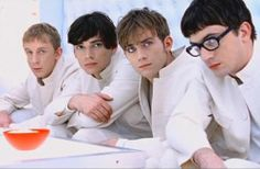"""Blur """"The universal"""" videoclip released in 1995 and directed by Jonathan Glazer. Inspired by Stanley Kubrick 's """"A clockwork orange"""" Damon Albarn, Nick Cave, Radiohead, Sound Of Music, Good Music, Jonathan Glazer, Blur Band, 11. September, The Girlfriends"""