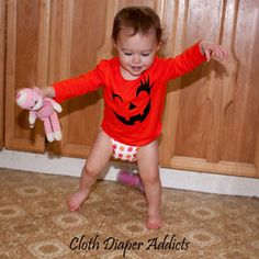 Daily Cute Fluffy Bum – TotsBots #Halloween @TotsBots @Cozy Bums Diapers