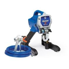 Buy Graco Magnum 262800 Stand Airless Paint Sprayer with big discount! Only 9 days. Get Graco Magnum 262800 Stand Airless Paint Sprayer with worldwide shipping now! Paint Sprayer Reviews, Best Paint Sprayer, Using A Paint Sprayer, Hvlp Sprayer, Handyman Projects, Diy Projects, Concrete Coatings, Paint Buckets, Magnum