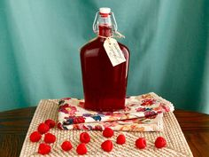 Learn how to make Homemade Raspberry Simple Syrup at home, no preservatives. Add to cocktails, mocktails, or pour it over pancakes and waffles!