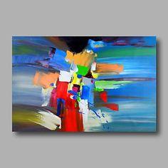 【今だけ☆送料無料】 アートパネル  抽象画1枚で1セット ブルー レッド イエロー 模様【納期】お取り寄せ2~3週間前後で発送予定