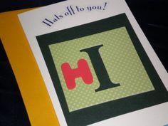 Items similar to Just wanna say Hi Father's Day card on Etsy Mothers Day Cards, Say Hi, Fathers Day, Sayings, Handmade Gifts, Men, Etsy, Kid Craft Gifts, Lyrics