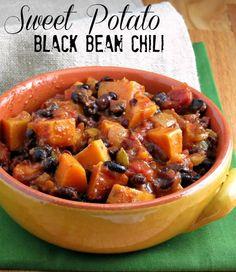 Yummy Black Bean and Sweet Potato Chili Recipie