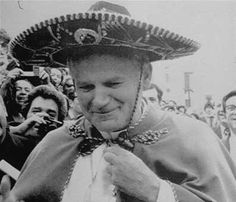 """""""Party like it's St. John Paul II's feast day!"""" Because it is! It's October 22nd."""