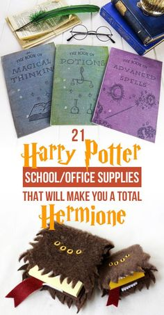 21 Harry Potter School Supplies That Will Make You A Total Hermione - hogwarts - diy-craft Harry Potter Diy, Harry Potter Navidad, Magie Harry Potter, Cadeau Harry Potter, Harry Potter Weihnachten, Harry Potter Thema, Harry Potter Classroom, Theme Harry Potter, Anniversaire Harry Potter