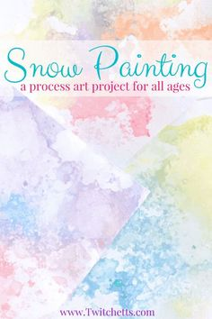 How to make colored salt snow art with your kids - Twitchetts Colored Salt Snow Art - Winter Crafts for Kids a fun Process art Project for kids of all ages, from toddler, to preschool, and up through adults! Preschool Art Projects, Arts And Crafts Projects, Projects For Kids, Kids Crafts, Snow Preschool Crafts, Daycare Crafts, Process Art Preschool, School Age Crafts, Preschool Ideas
