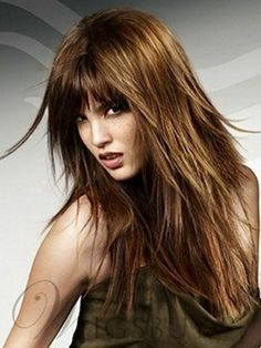 Long Rock Layered Haircuts In 2020 Rock Chic Long Layered Hair Haircuts For Long Hair With Layers, Long Layered Haircuts, Long Hair Cuts, Girl Haircuts, Hairstyles With Bangs, Straight Hairstyles, Cool Hairstyles, Hairstyles Videos, Step Cut Hairstyle