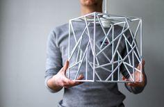 Дизайн в квадрате: Geometric Lamp из Львова