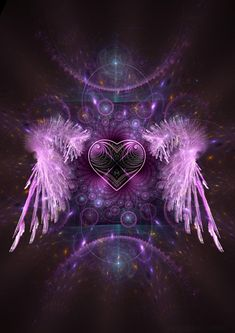 Risultati immagini per purple heart with wings Purple Love, All Things Purple, Shades Of Purple, Purple Stuff, Purple Hearts, Purple Swag, Ascended Masters, Heart With Wings, Angels Among Us