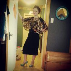 Teal & Cheetah ! #pop #Pentecostal #fashion