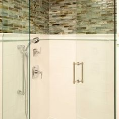Love the tile in this shower.