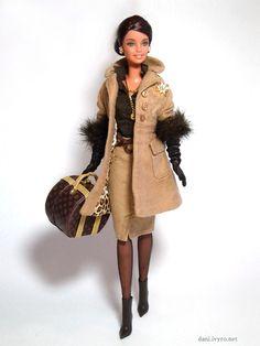 Haute Barbie loves Louis Vuitton