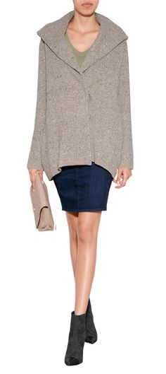 An+exquisite+mix+of+silk,+cashmere+and+angora+give+this+hooded+cardigan+coat+from+Ralph+Lauren+Collection+a+luxurious+look+#Stylebop