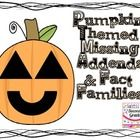 Have your students practice finding missing addends with these fun pumpkin worksheets.  Students are given 1 addend and the sum and have to find th...