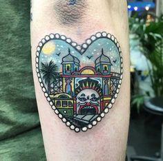 Circus Heart tattoo
