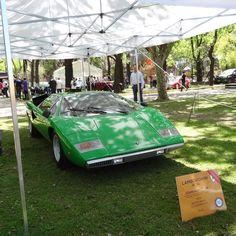 Cuarto prototipo fabricado por Lamborghini para desarrollar el Countach.