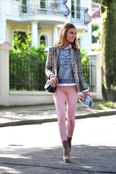 Shop pink jeans here