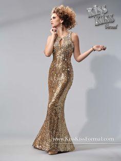 Mary's style ID P3713 Kiss Kiss formal wear prom dress mayras bridal fontana
