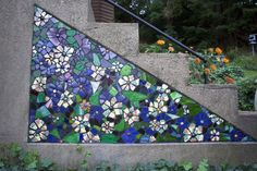 I love mosaics incorporated into architecture