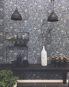 The post appeared first on Sovrum Diy. Brewster Wallpaper, Small Condo, Interior Wallpaper, Scandinavian Interior, Room Colors, Vintage Walls, Designer Wallpaper, Decoration, My Dream Home