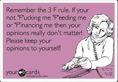 Keep ur opinions to urself!!!