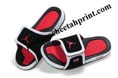 10c6d2b2ee2c Cheap Air Jordans 10 Massage Slippers Black White Fire Red Pumas Shoes