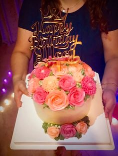 Korean Buttercream Flower, Buttercream Flowers, Chocolate Pies, Chocolate Cookies, Cake Cookies, Birthday Cake, Desserts, Food, Tailgate Desserts