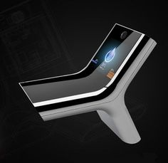 The 'smart' SmartFaucet by iHouse. Using a facial screening application, the iHouse Smart Faucet recognizes the user and automatically turns on the water to the preferred temperature and flow. And it's LED displays the temperature of water. New Technology Gadgets, Smart Home Technology, Futuristic Technology, Energy Technology, Bathroom Gadgets, Bathroom Sink Faucets, Concrete Bathroom, Bathroom Design Luxury, Bathroom Interior