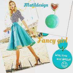 Fashion jewelry, Made in Italy earrings, matildesign bijoux, orecchini, bigiotteria