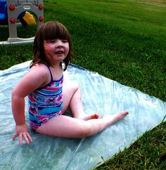 "Lucy on the ""Redneck Waterbed"" by My Mommys Place, via Flickr"