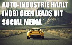 Auto-industrie haalt (nog) geen leads uit social media   - 38 procent van de consumenten geven aan dat ze social media als bron raadplegen bij hun volgende auto-aankoop. - 23 procent van de autokopers zegt dat ze social media gebruikt om de communiceren over hun aankoop…  meer cijfers @ http://www.marketingonline.nl/nieuws/onderzoek-auto-industrie-haalt-nog-geen-leads-uit-social-media