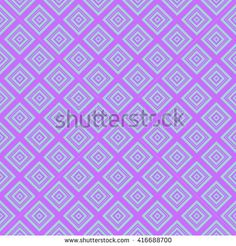Seamless wall-paper with rhombuses, green-lilac. Geometrical strict pattern, minimalist. A print for fabric, packing paper, a background for design, etc. Male and female style.